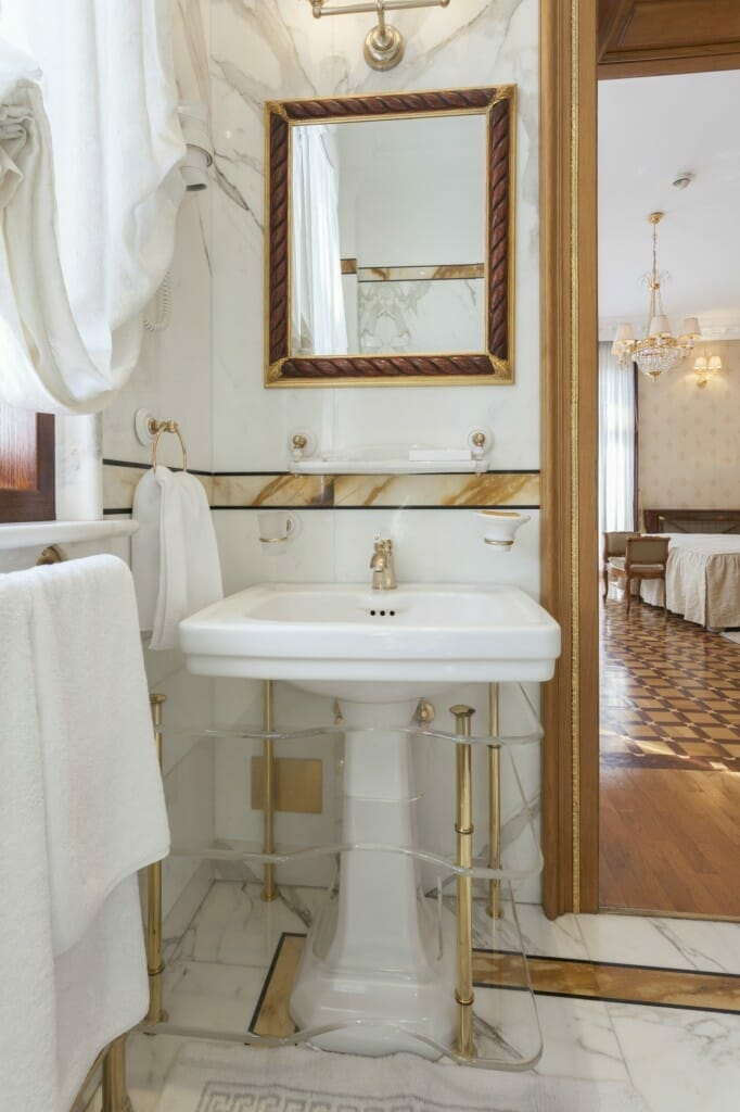 How to Clean Gold Faucets: Maintaining and Cleaning Gold Plated Bathroom Fixtures Images