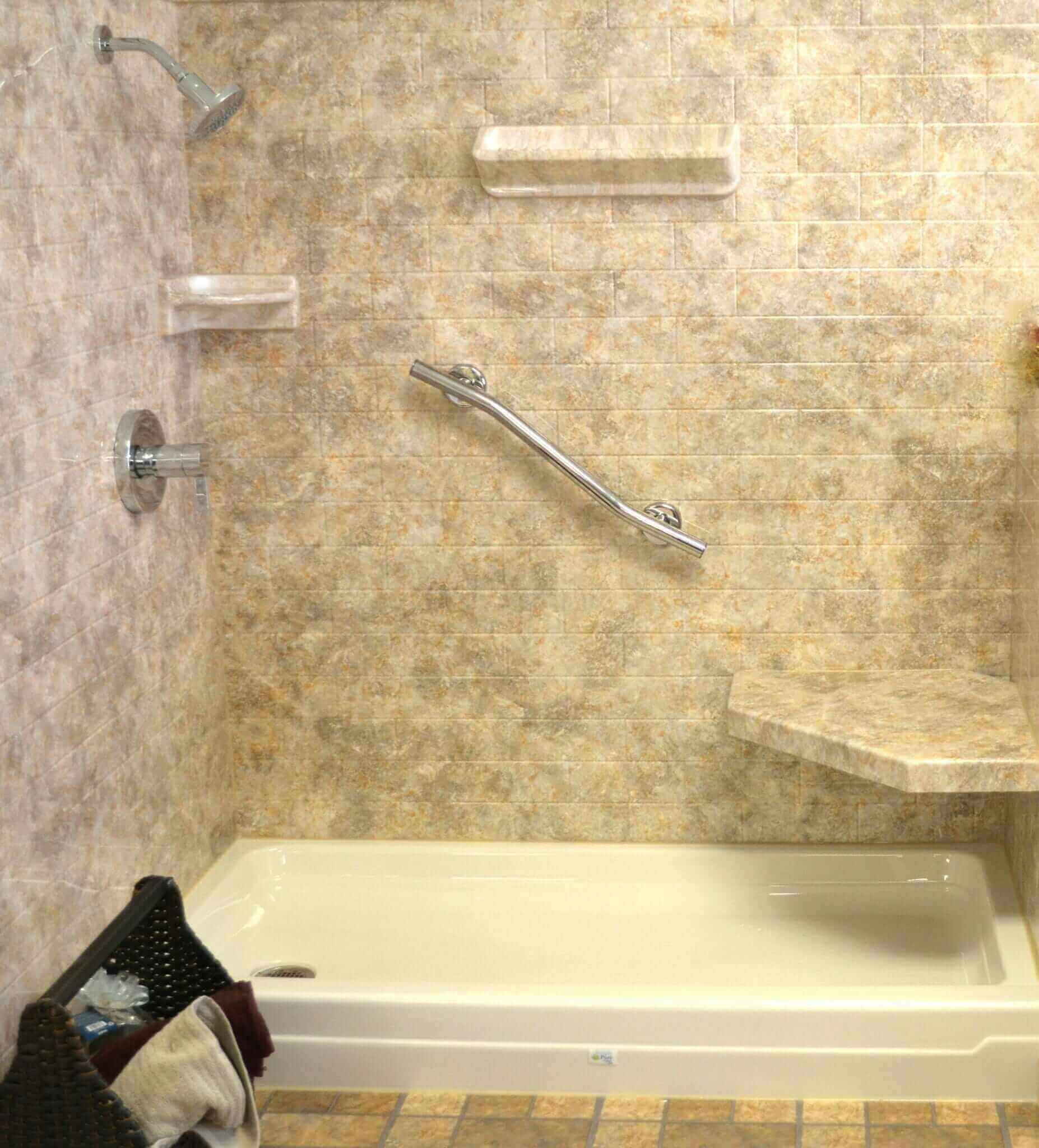 Acrylic Shower Walls vs. Tile Shower Walls -