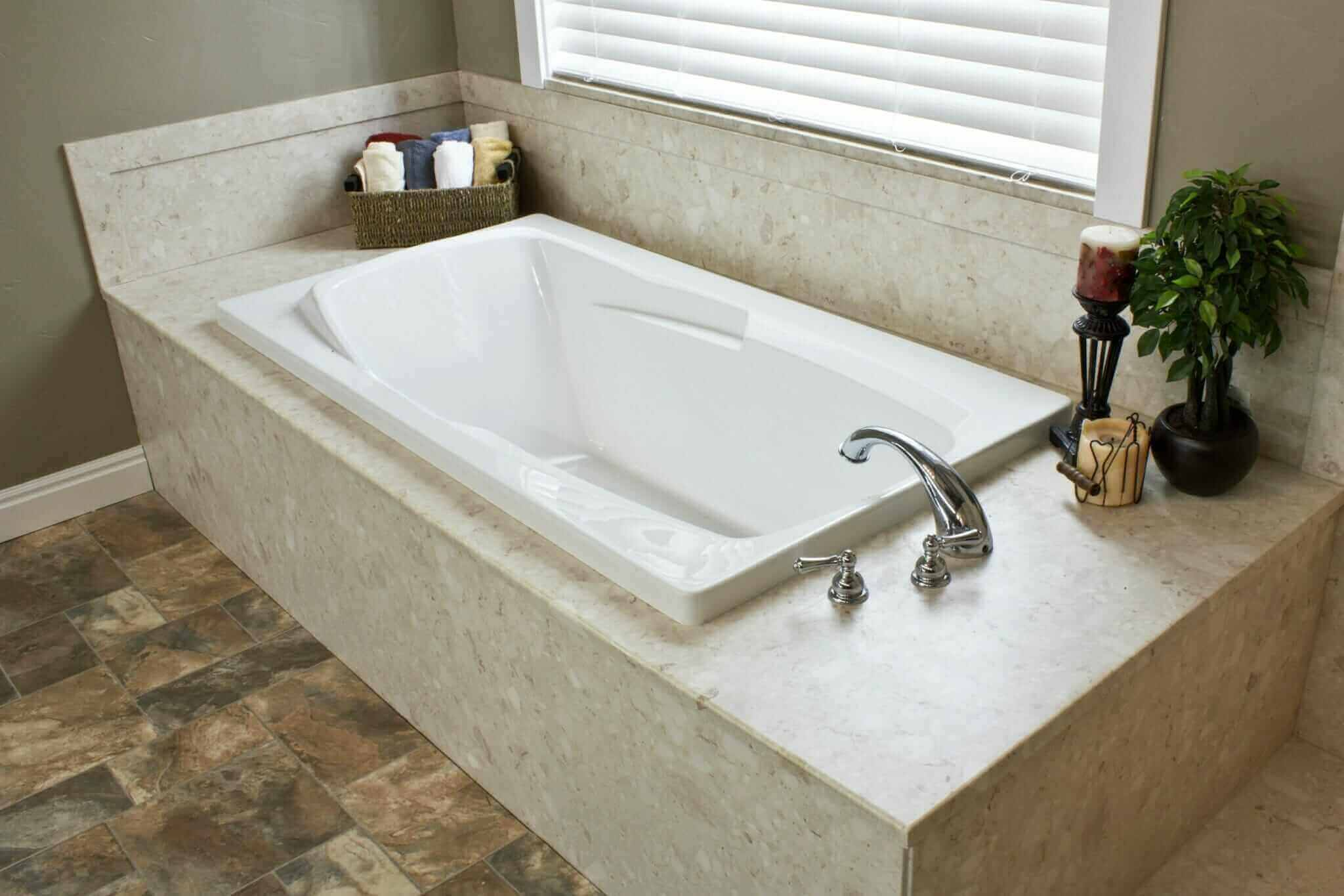 Bathtub design for your unique style and needs for Bathroom soaking tub ideas