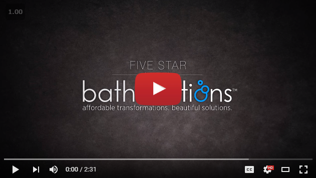 Welcome video for Five Star Bath Solutions of Greenville Greenville, SC