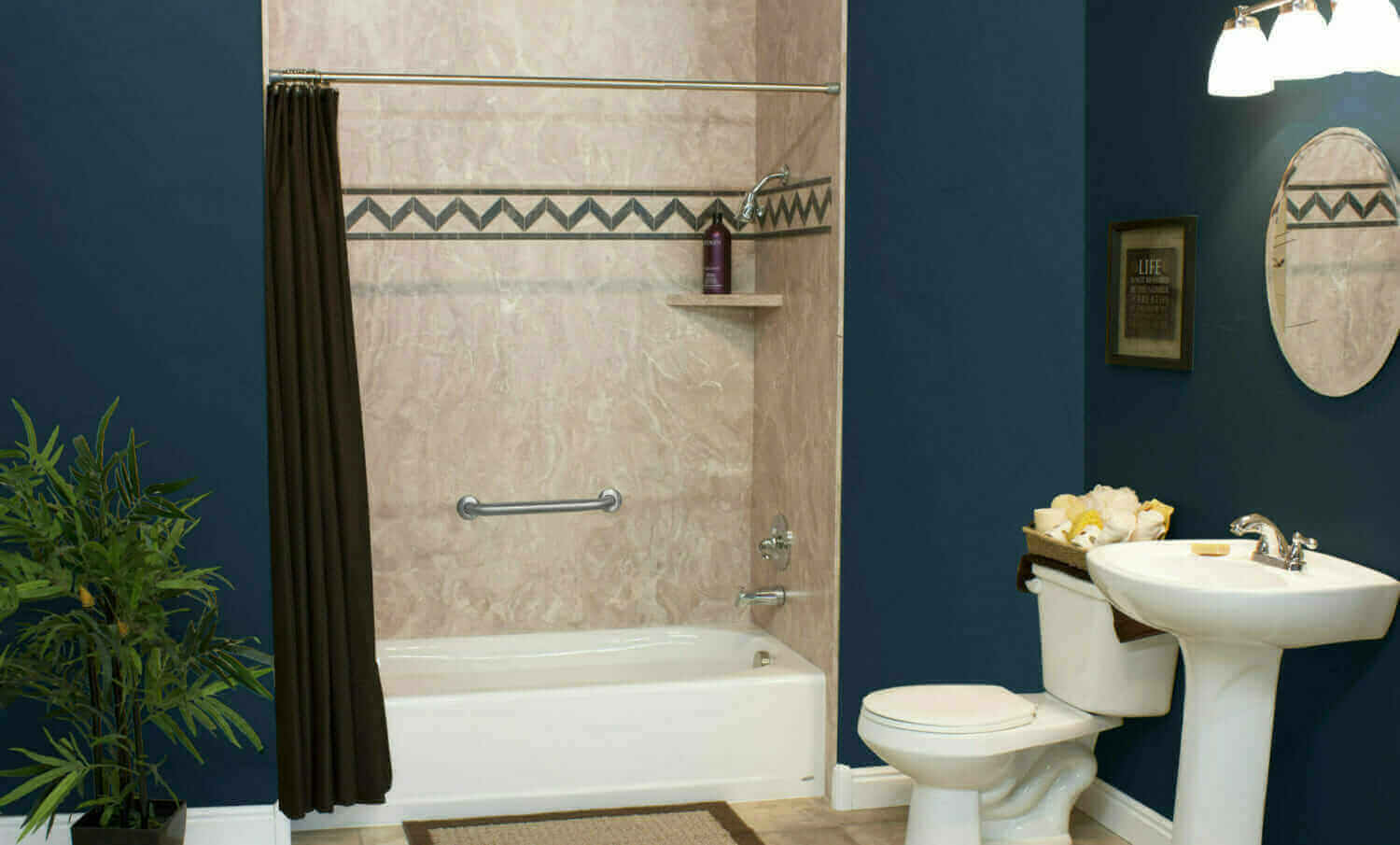 Louisville professional bathroom remodeling five star for Professional bathroom renovations