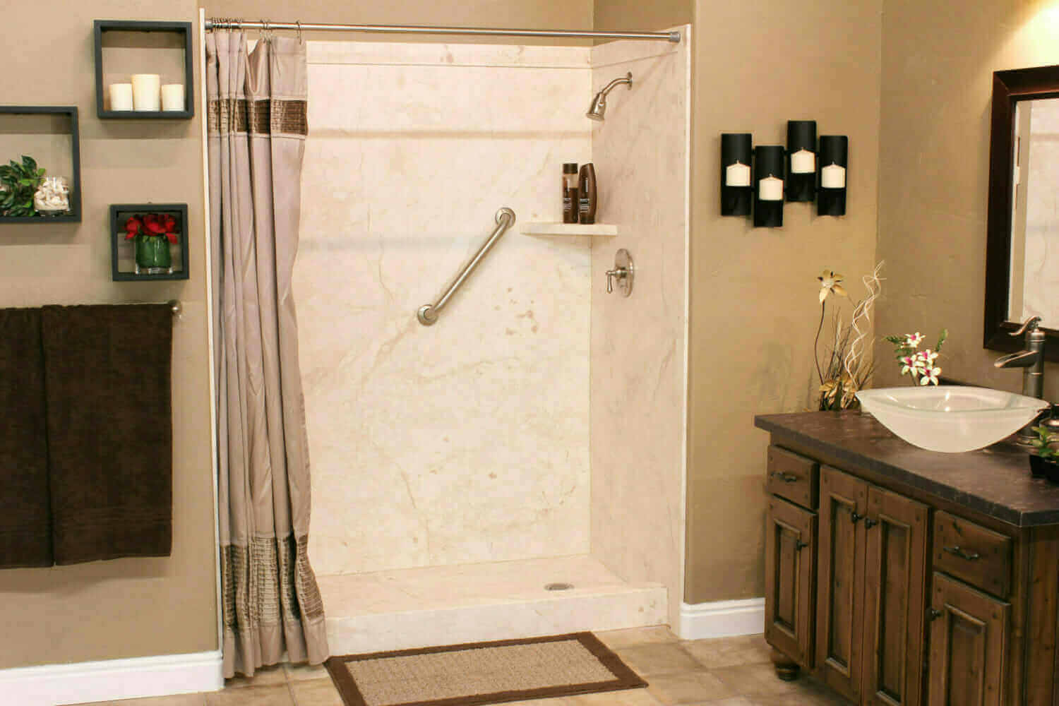 Lake oconee bathroom remodelers five star bath solutions for Bath remodel one day