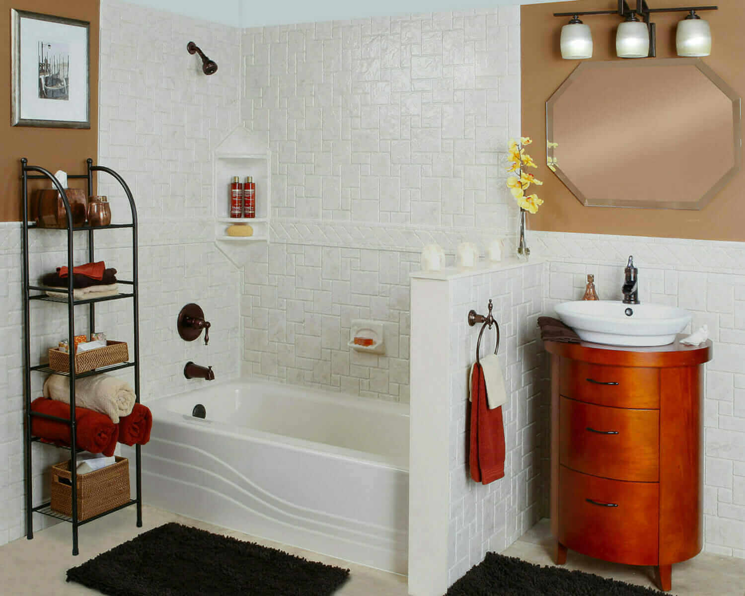Salt lake city professional bathroom remodeling five for Professional bathroom renovations