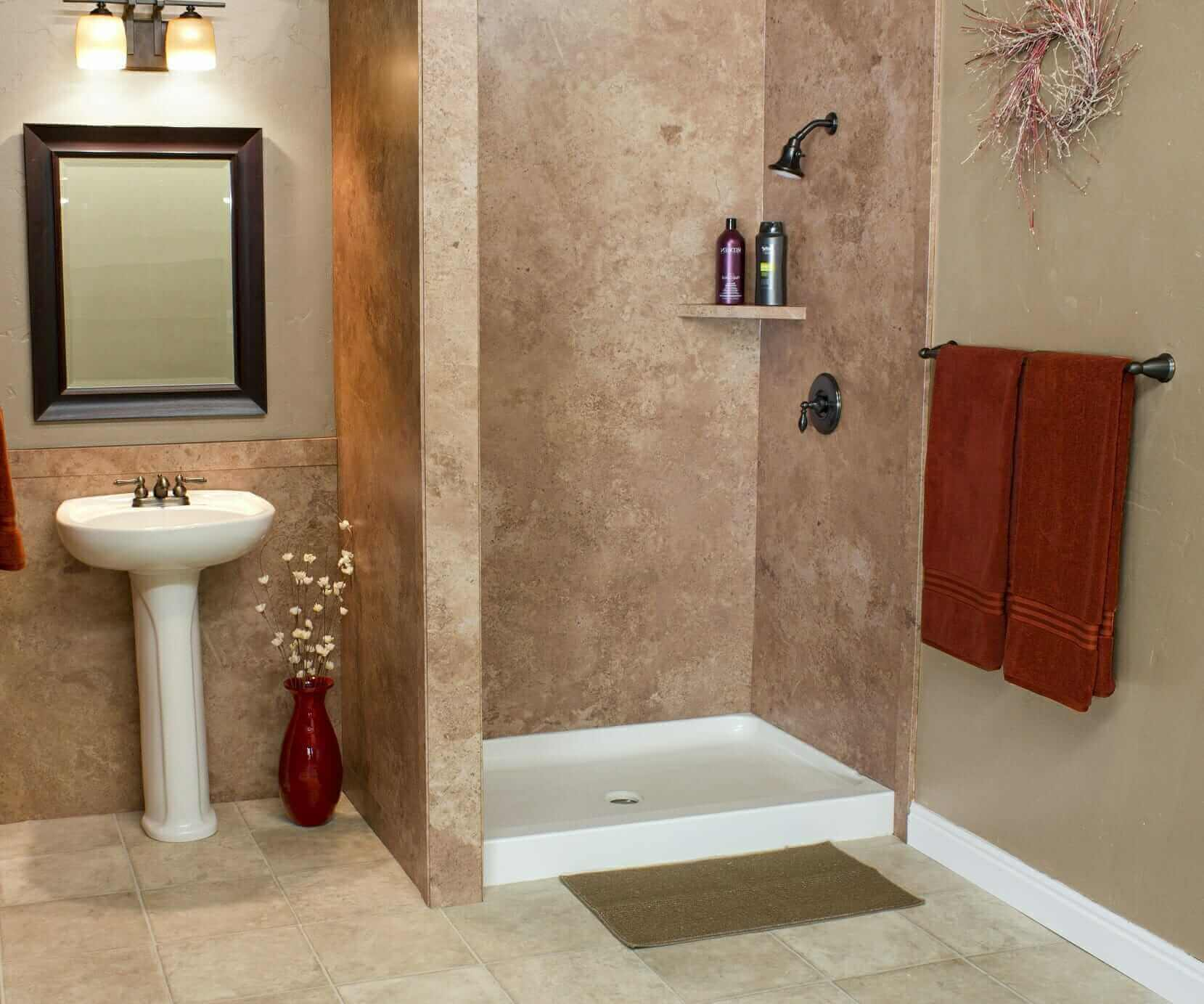 Bismarck Tub and Shower Wall Systems | Five Star Bath Solutions of ...