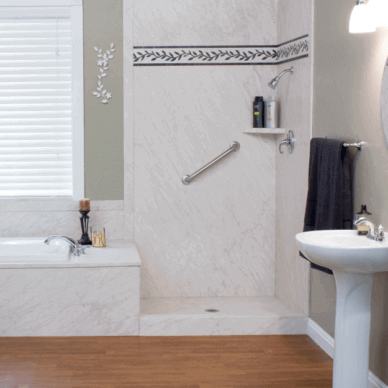 Bath solutions bath renovations bathroom remodelers for Local bathroom remodelers