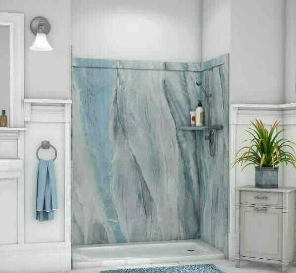 Richmond Tub And Shower Wall Systems Five Star Bath Solutions Of - Bathroom remodeling mechanicsville va