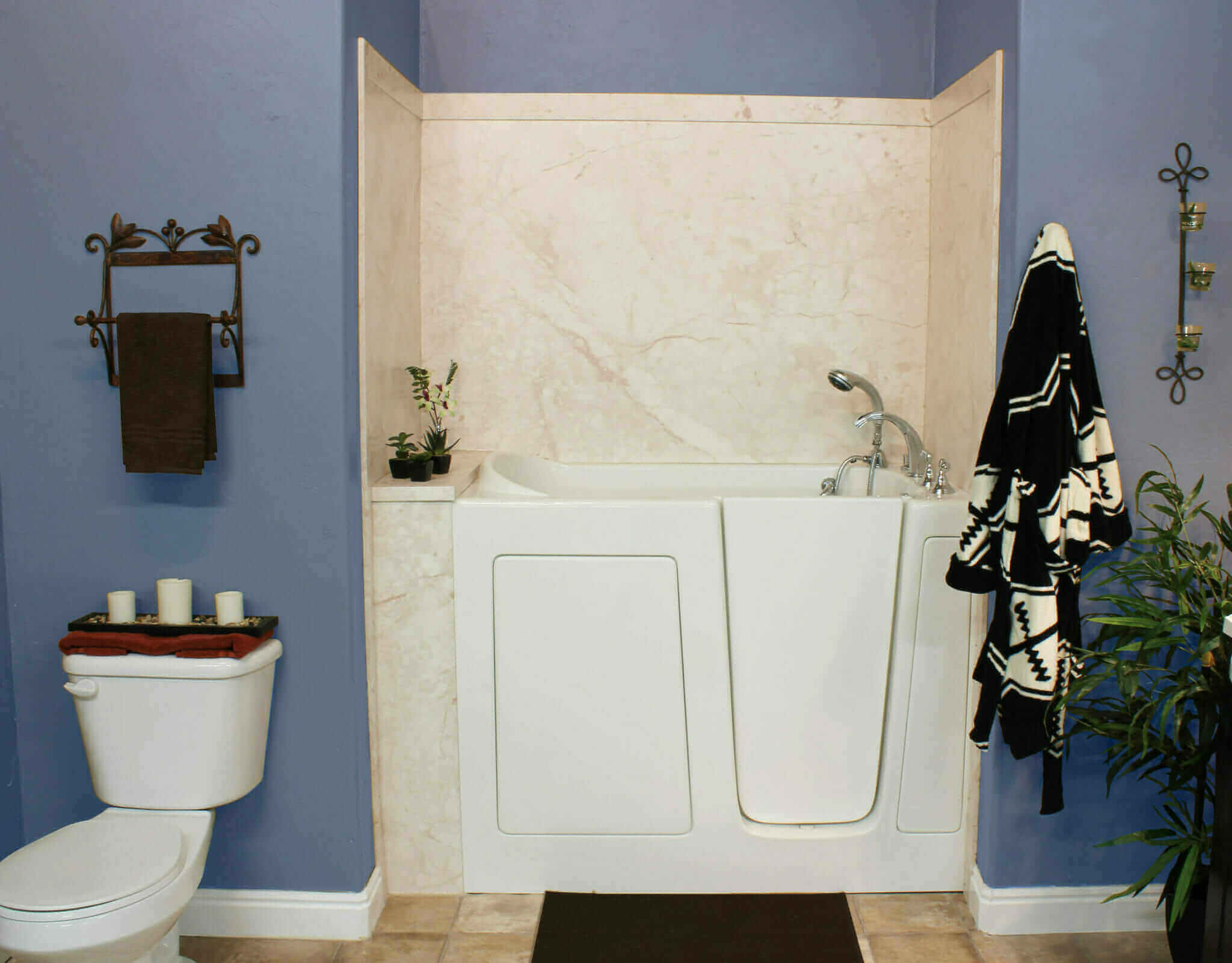 Orem walk in tubs installers five star bath solutions of for Bathroom remodel utah county