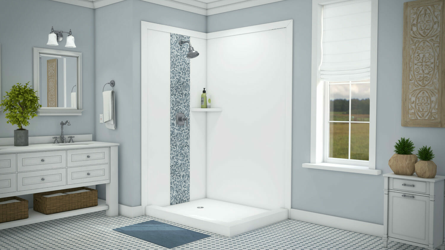 How To Clean Acrylic Shower Wall Surround